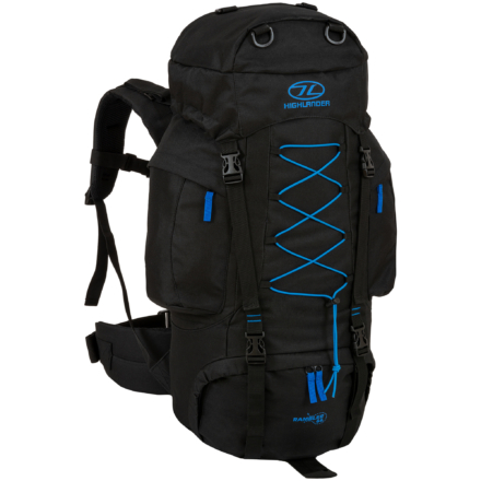 Highlander Rambler backpack 66 liter zwart