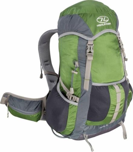 Highlander Cascade hiking daypack 28l groen