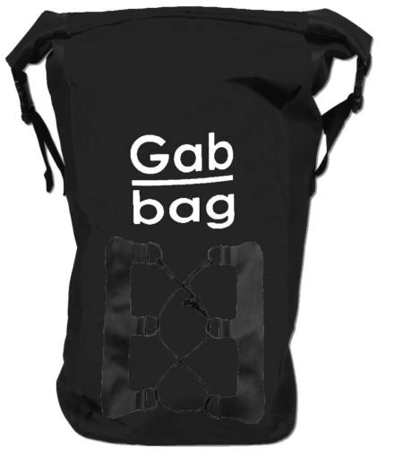 Gabbag Daypack 25L waterdichte rugzak zwart