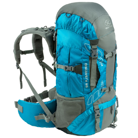 Highlander Discovery 65l backpack teal blauw