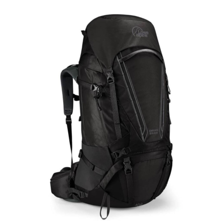 Lowe Alpine Diran 55:65l backpack heren Anthracite