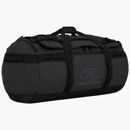 Highlander Storm Kitbag 90l duffle bag zwart