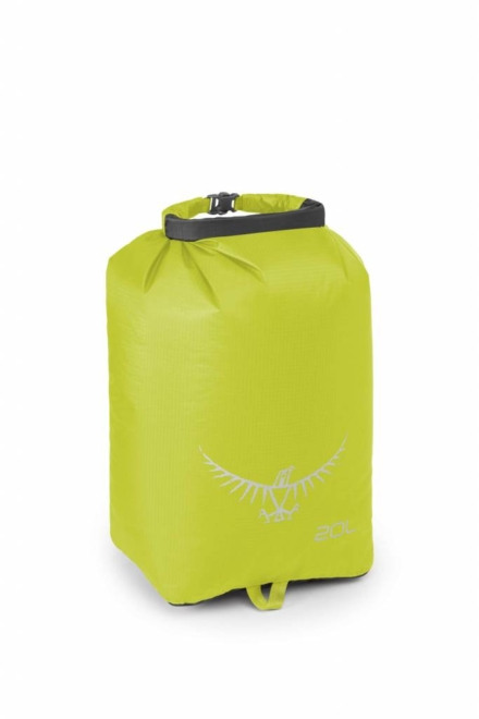 Osprey Ultralight DrySack 20 liter drybag Electric Lime waterdichte zak
