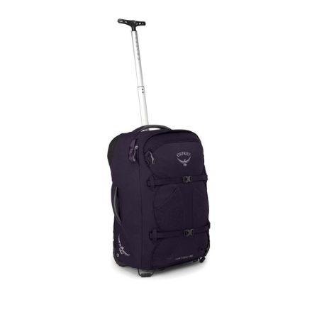 Osprey Fairview Wheels 36l travelpack convertible dames handbagage -Amulet Purple O/S