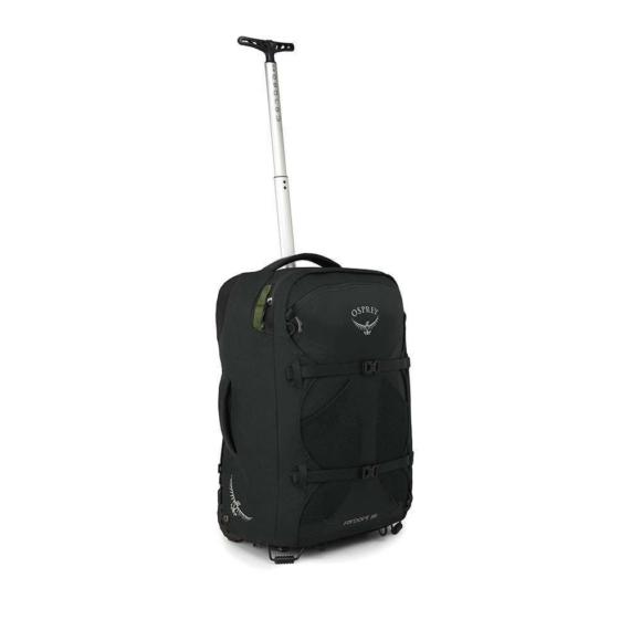 Osprey Farpoint Wheels 36 handbagage trolley convertible rugzak heren zwart O/S