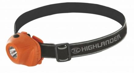 Highlander Beam hoofdlamp oranje