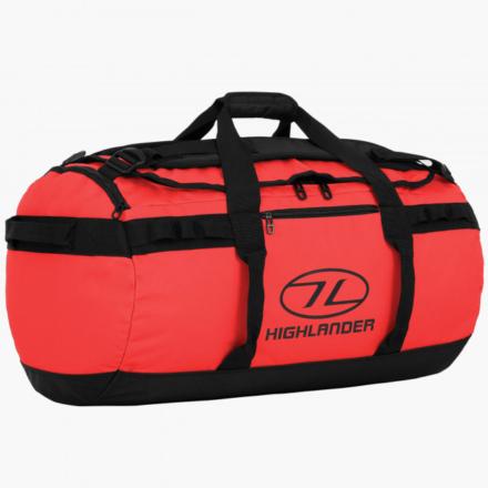 Highlander Storm Kitbag 65l duffle bag rood