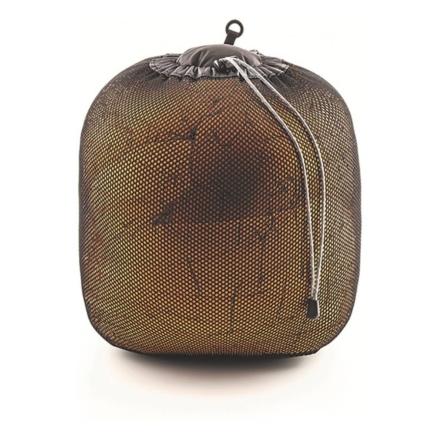 Lowe Alpine Mesh stuff sac 2.5 tot 15 l zwart