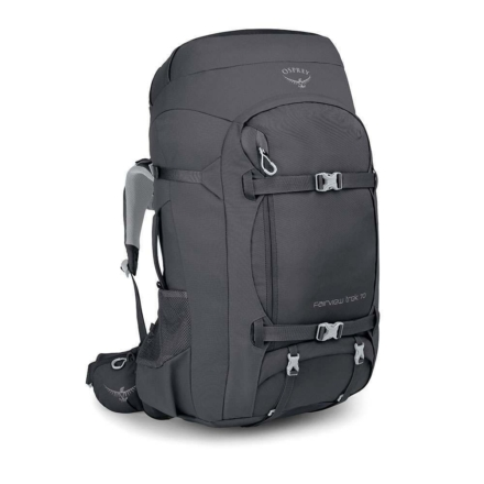 Osprey Fairview Trek 70 dames travelpack Charcoal Grey O/S