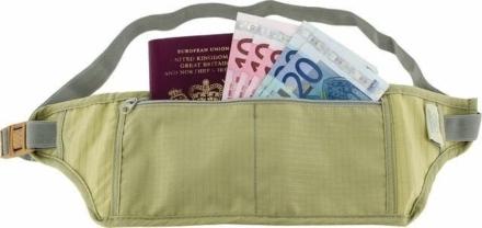 Highlander Moneybelt reisportemonnee 1 ritsvak beige