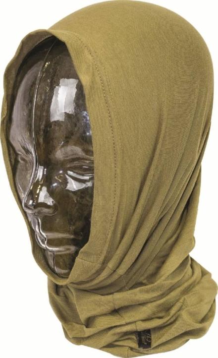 Pro-force Headover nekwarmer balaclava sjaal Tan bruin