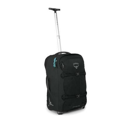 Osprey Fairview Wheels 36l travelpack convertible dames handbagage zwart O/S