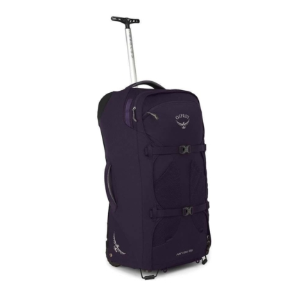 Osprey Fairview Wheels 65l travelpack convertible dames Amulet Purple O/S