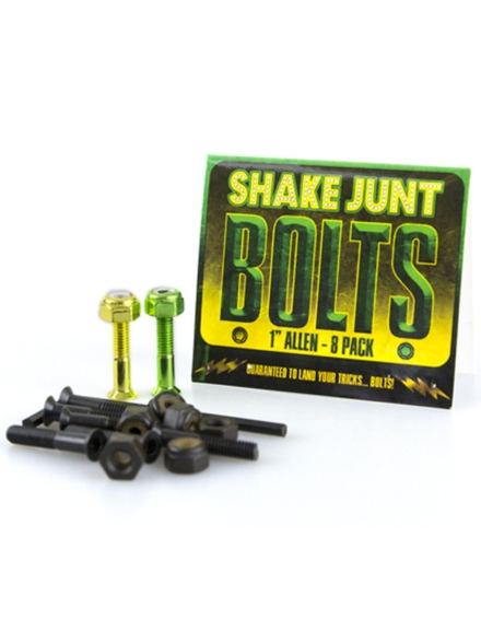 "Shake Junt Green Yellow Inbus 1"" Screws patroon"