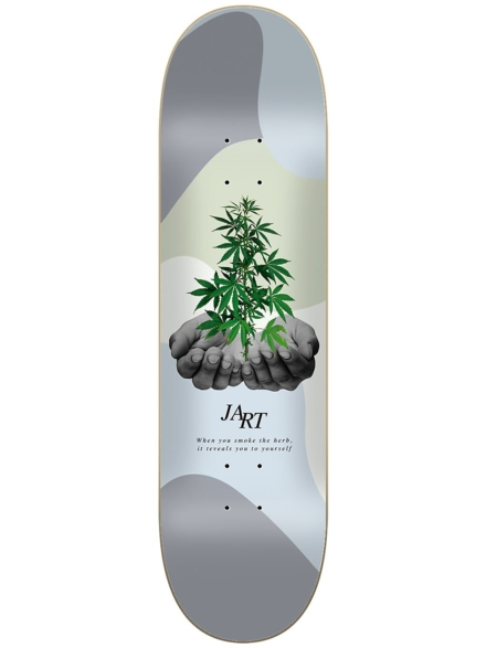 "Jart Let it Be 7.75"" Skateboard Deck patroon"