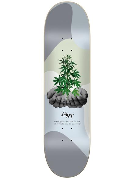 """Jart Let it Be 7.75"""" Skateboard Deck patroon"""