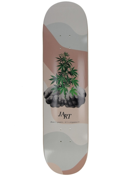 "Jart Let it Be 8.0"" Skateboard Deck patroon"