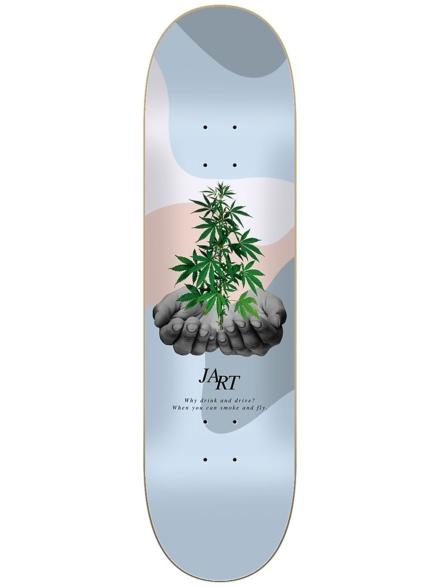 """Jart Let it Be 8.125"""" Skateboard Deck patroon"""