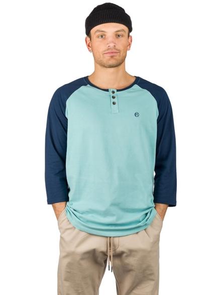 Kazane Barthol Long Sleeve T-Shirt blauw