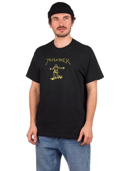 Thrasher Gonz T-Shirt zwart