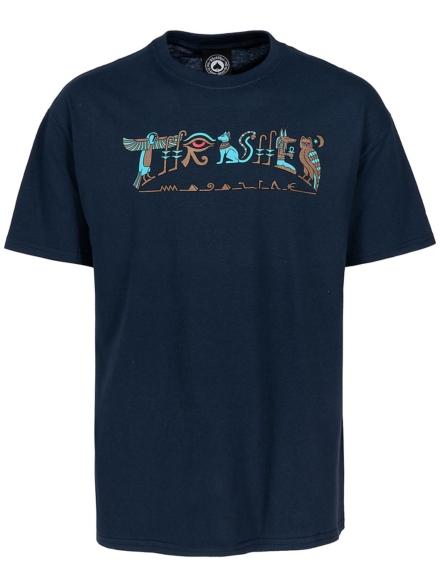 Thrasher Hieroglyphic T-Shirt blauw