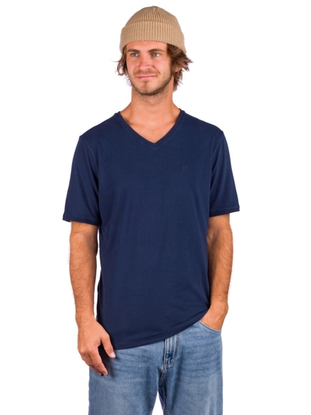 Kazane Landscape T-Shirt blauw