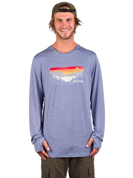 Coal Klamath Long Sleeve T-Shirt blauw