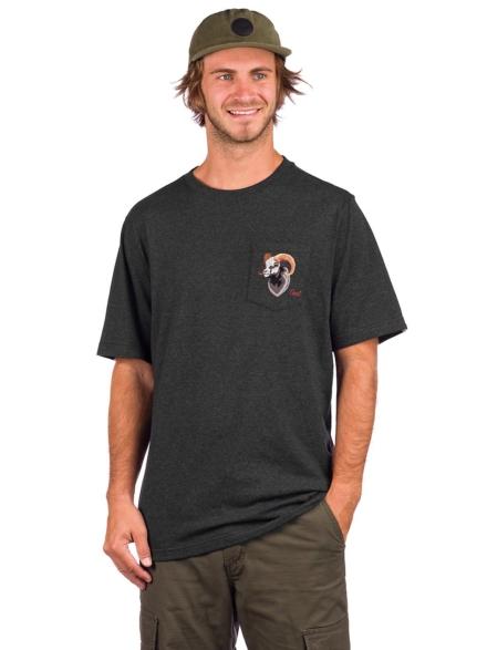 Coal Crater T-Shirt grijs