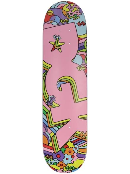 """DGK Chroma Mini 7.25"""" Skateboard Deck roze"""