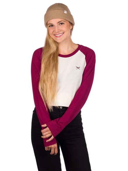 Iriedaily Flaggy Long Sleeve T-Shirt rood