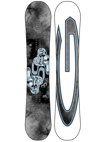 Gnu Carbon Credit 153 2021 Snowboard patroon