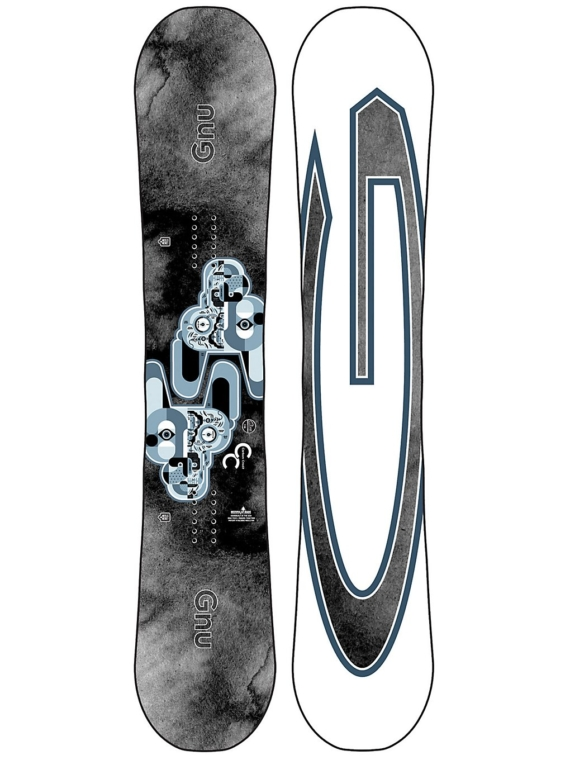 Gnu Carbon Credit 159 2021 Snowboard patroon