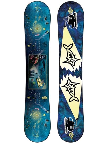 Gnu Finest 154 2021 Snowboard patroon