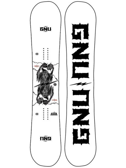 Gnu RC C3 154.5 2021 Snowboard patroon