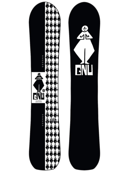 Gnu 4 153 2021 Snowboard patroon