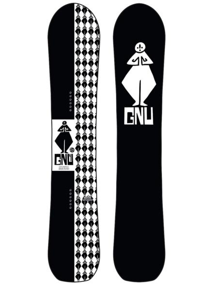 Gnu 4 156 2021 Snowboard patroon