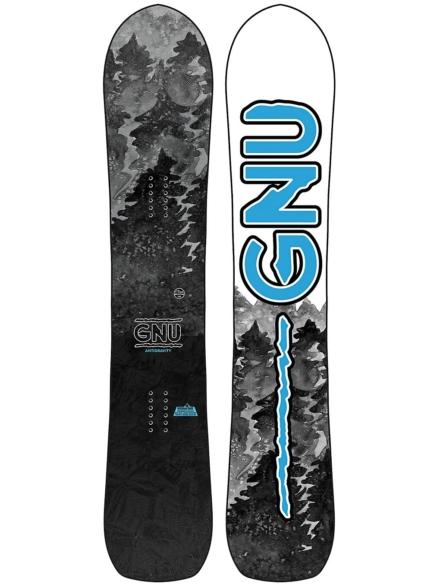 Gnu Antigravity 162W 2021 Snowboard patroon