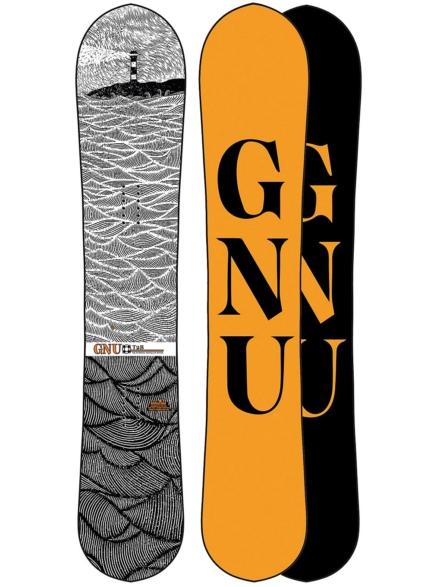 Gnu T2B 158W 2021 Snowboard patroon