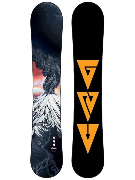 Gnu Billy Goat 164W 2021 Snowboard patroon