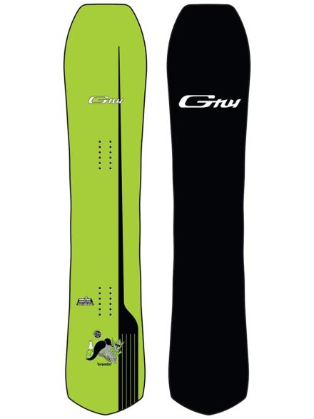 Gnu Gremlin 155 2021 Snowboard patroon