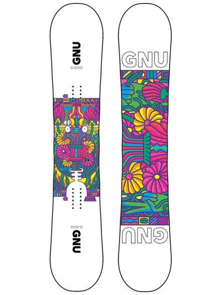 Gnu B Nice 142 2021 Snowboard patroon
