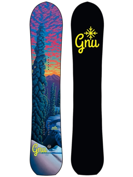 Gnu Klassy 155 2021 Snowboard patroon