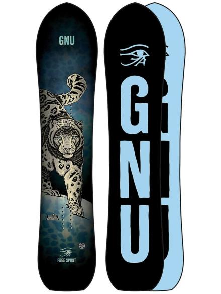 Gnu Spirit 143 2021 Snowboard patroon