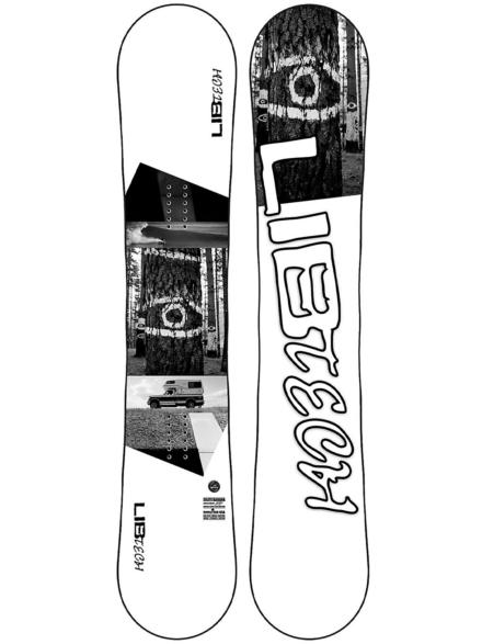Lib Tech Skate Banana 153W 2021 Snowboard patroon