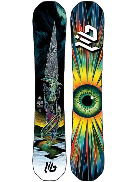 Lib Tech Travis Rice Pro Blunt 155 2021 Snowboard patroon