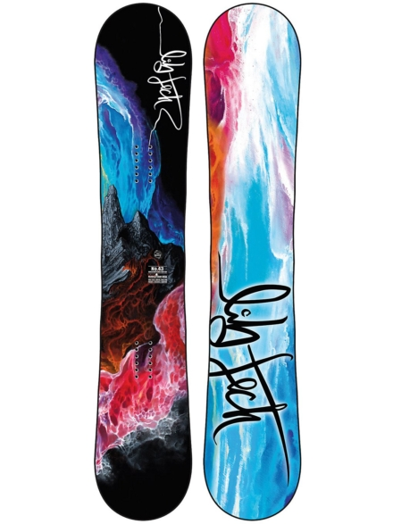 Lib Tech No43 143 2021 Snowboard patroon