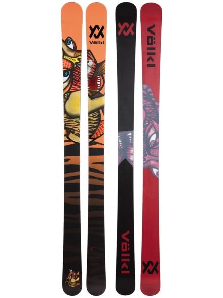 Völkl Revolt Flat 95mm 173 2021 Skis patroon