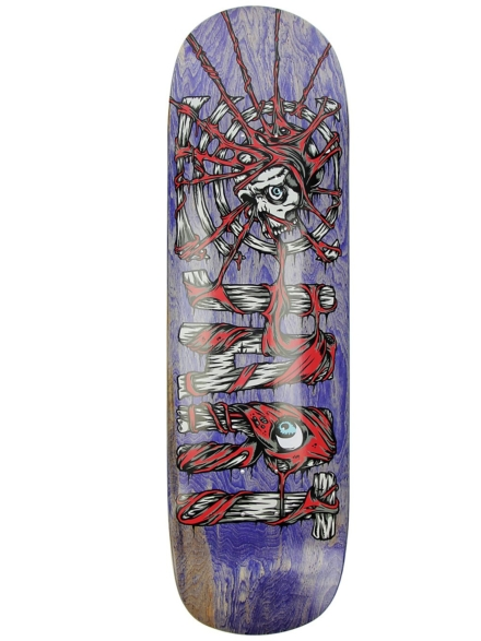 "Jart Dirty 9.0"" Skateboard Deck patroon"