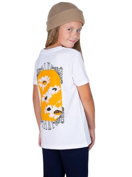 Blue Tomato Pushing Daisies T-Shirt wit