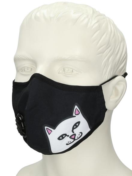 RIPNDIP Ventilator Cloth Mask zwart